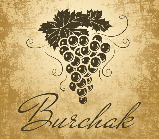 Brand Burchak for partially fermented wine