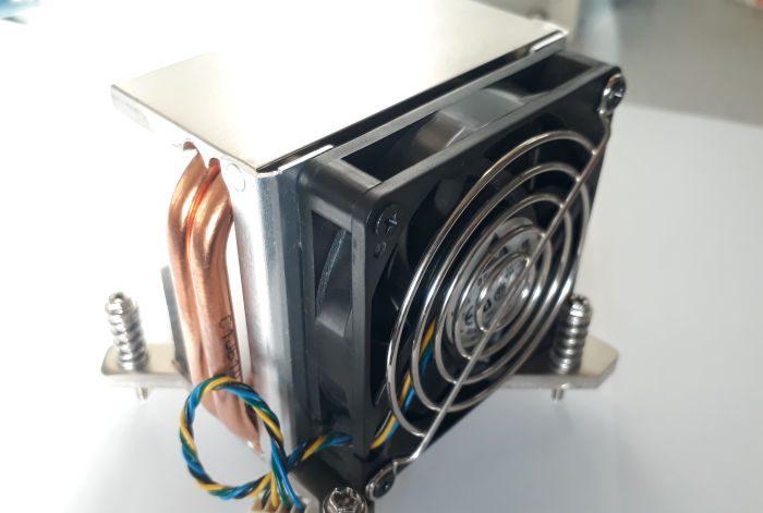 Massive cooler Intel Pentium P4 processor