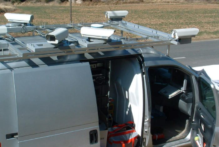 TeleAtlas car used for GPS mapping