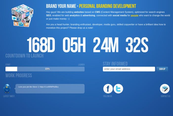 Image of website BrandYour.name