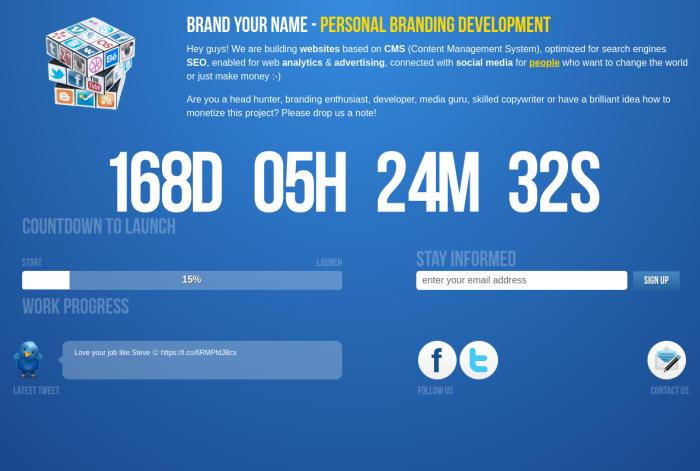 Image of website BrandYour.name